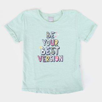 Blusa Infantil Hering Kids Best Version Feminina