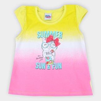 Blusa Infantil Kiko & Kika Summer Fun Feminina