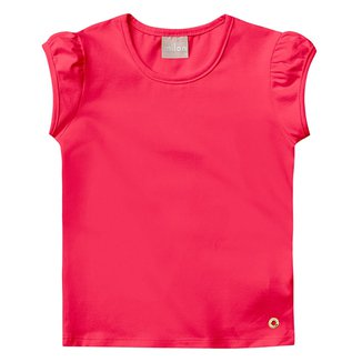 Blusa Infantil Milon Cotton Básica Feminina