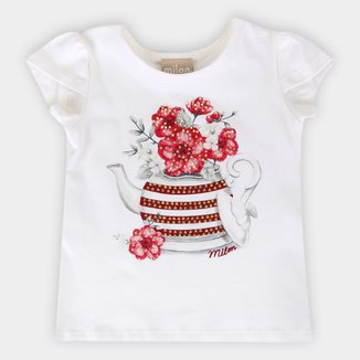 Blusa Infantil Milon Estampada Feminina