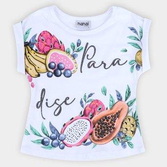 Blusa Infantil Nanai Paradise Feminina
