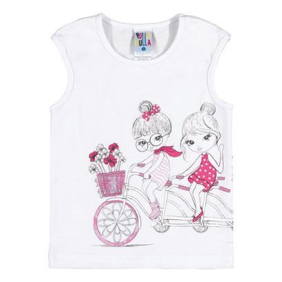 Blusa Infantil Pulla Bulla Primeiros Passos Cotton Feminino