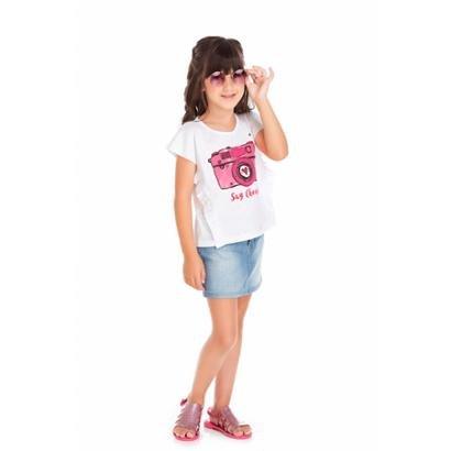 Blusa Infantil Tileesul Feminina