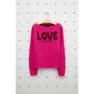 Blusa Infantil Yarn Love Pink 06
