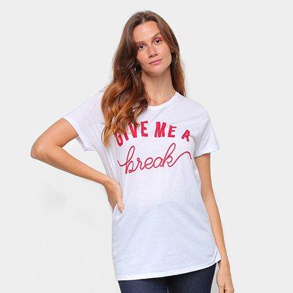 Blusa Lez a Lez Give me a Break Feminina