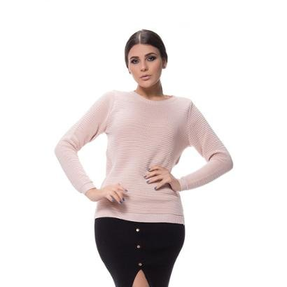 Blusa Logan Tricot Textura Nervura  Feminina-Feminino