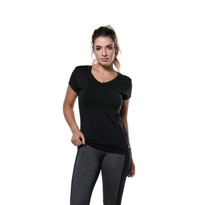 Blusa Manga Curta Sporty Uv50 Abusy - Feminina