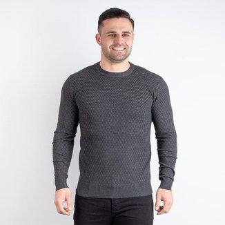 Blusa masculina de malha gola redonda 90114
