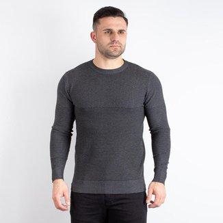 Blusa masculina de malha gola redonda 90116