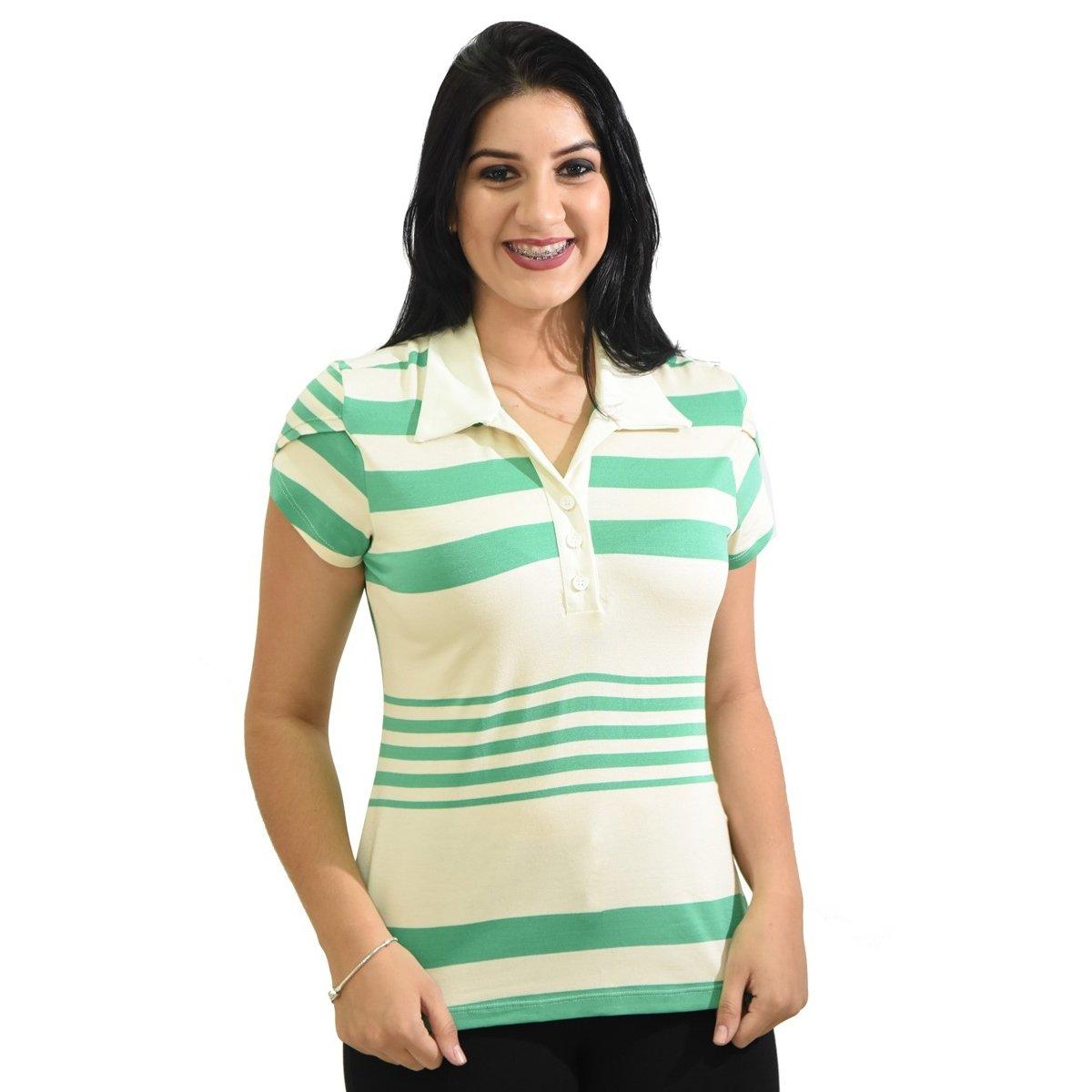 Blusa Moché Camisa Polo - Compre Agora  53ccf7d838328