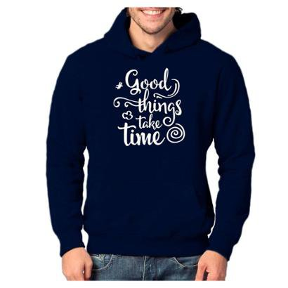 Blusa Moletom VR Good Things Take Time