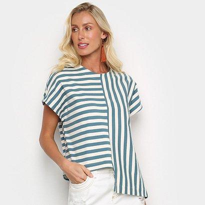 Blusa Osklen Summer Stripe Feminina