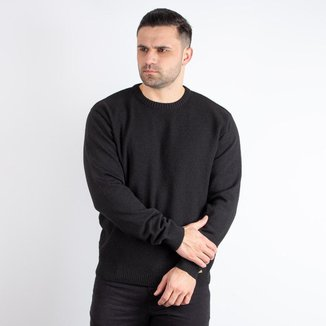 Blusão masculino de malha gola redonda Sumaré 10483