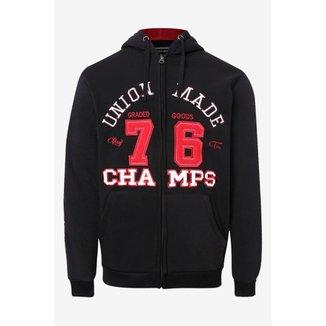 Blusão Moletom Masculino 76 Champs