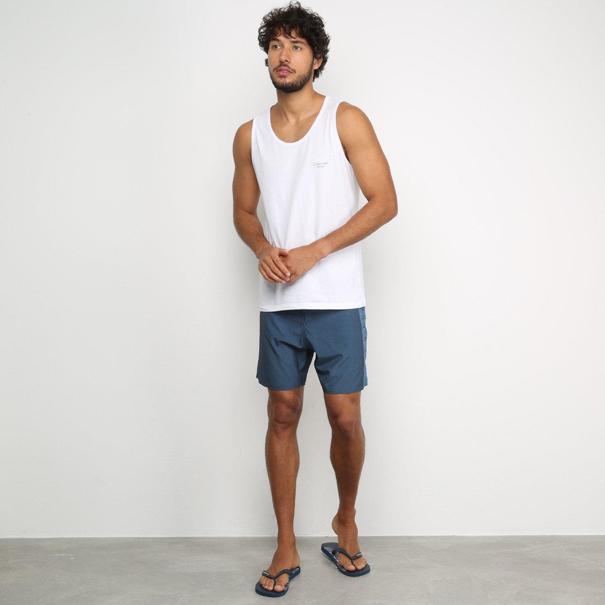 Boardshort Calvin Klein Masculino - Azul Claro