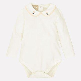Body Bebê Feminino Milon Cotton 12903D2.0452.P Milon