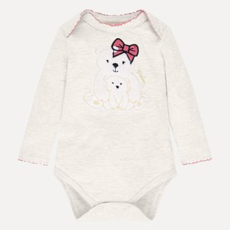 Body Bebê Feminino Milon Cotton 12904D1.40071.G Milon