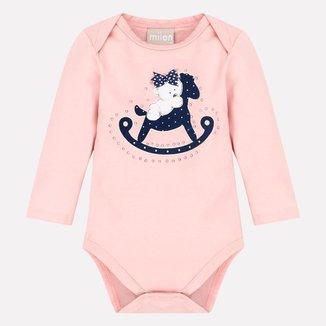 Body Bebê Feminino Milon Cotton 12906D1.40071.M Milon