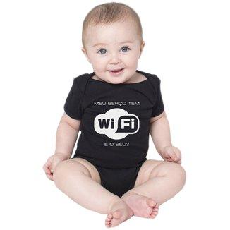 Body Bebe Frases Nerd Geek Wifi Conectado Criativa Urbana