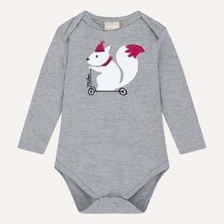 Body Bebê Masculino Milon Cotton 12994D1.0020.P Milon