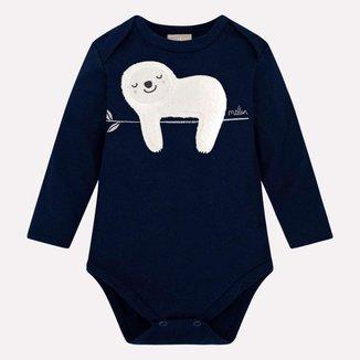 Body Bebê Masculino Milon Cotton 12995D1.6826.M Milon