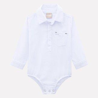 Body Bebê Masculino Milon Sarja M70347.0001.G Milon