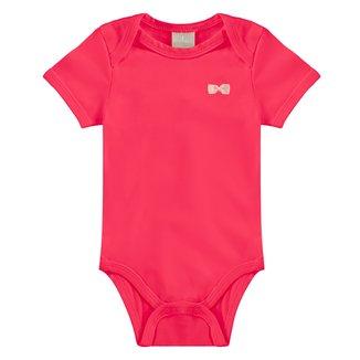 Body Bebê Milon Cotton Liso Feminino