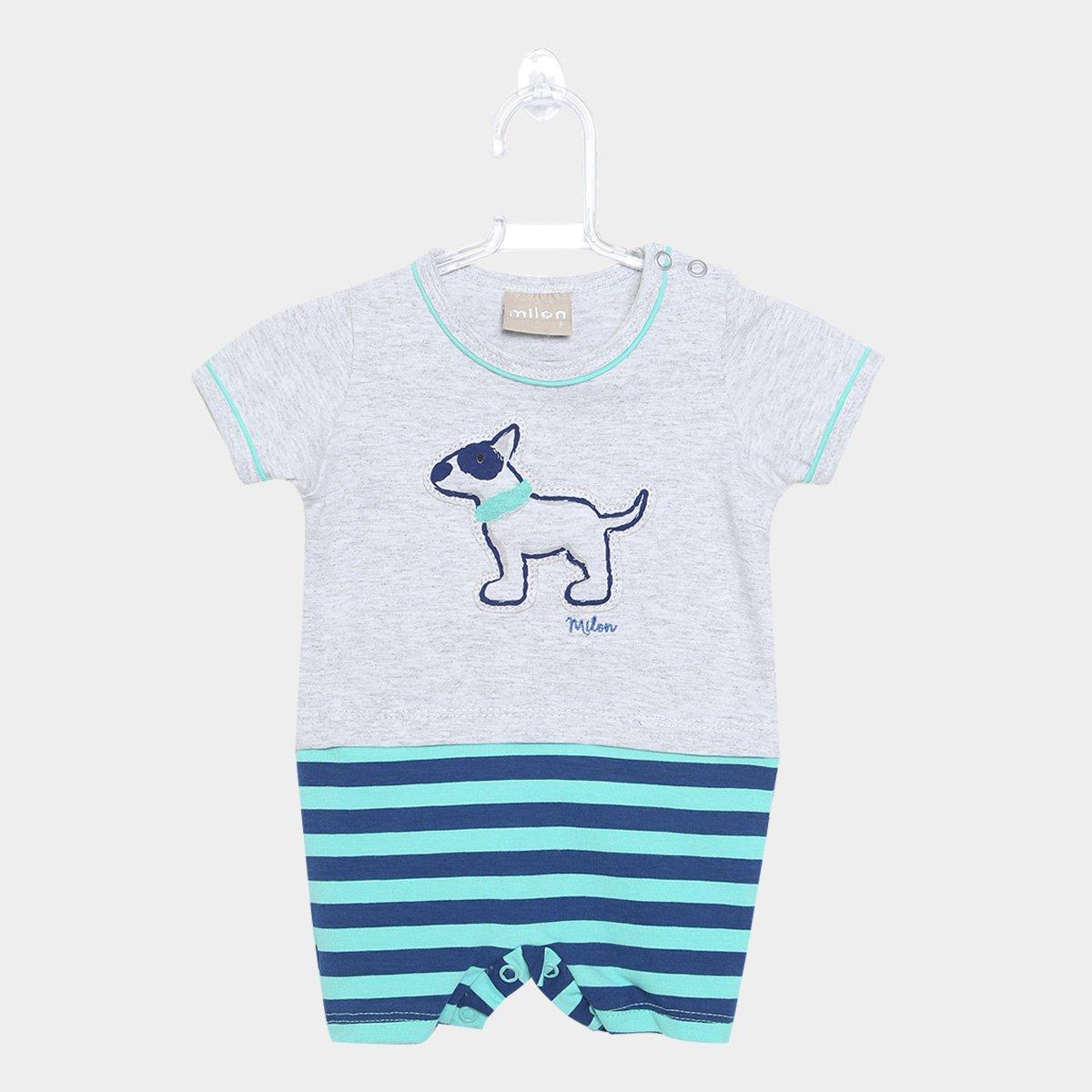a75910b4b Body Bebê Milon Listrado Masculino - Compre Agora | Zattini