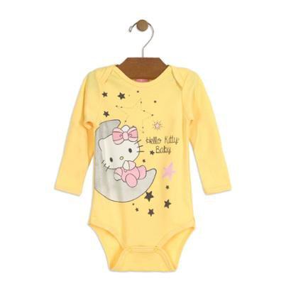 Body Bebê Suedine Hello Kitty Feminino-Feminino