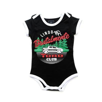 Body Brutalmente Lindo Bebê Toro Fiat