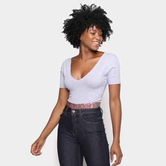 Body Calvin Klein Icon Cotton Feminino