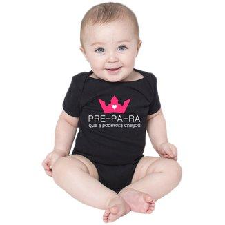 Body Criativa Urbana Bebê Frases Engraçadas Menina Poderosa
