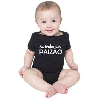 Body Criativa Urbana Bebê Frases Engraçadas Paizão Papai Pai