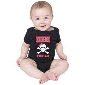 Body Criativa Urbana Bebê Frases Engraçadas Papai Pai Bravo
