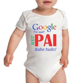 Body Criativa Urbana Bebê Frases Engraçadas Papai Pai