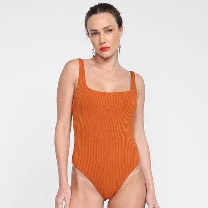 Body Farm Decote Quadrado Double Feminino