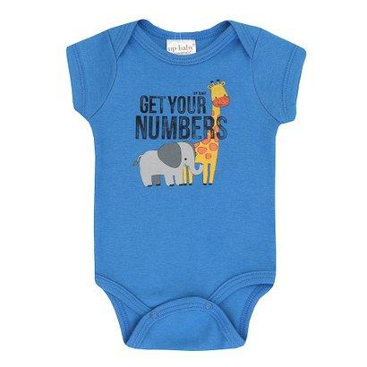 Body Infantil Girafa Up Baby Masculino