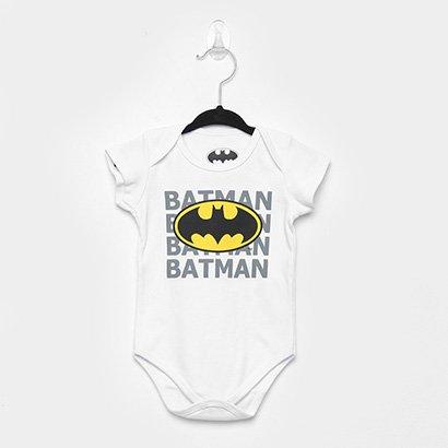 Body Infantil Marlan Batman Bebê