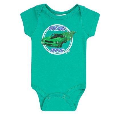 Body Masculino Up Baby Carro Verde
