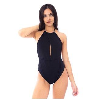 Body Moda Vicio Frente Unica Com Abertura Decote Feminino
