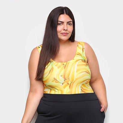 Body Naif Banana Plus Size Feminino