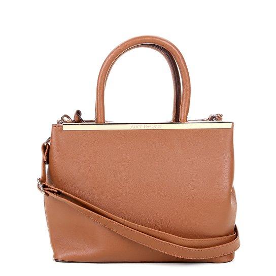 Bolsa Alice Palucci Handbag Feminina - Marrom