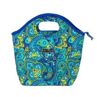 Bolsa Ana Viegas Handbag Tecido Mão Forro Impermeável Prática Feminina