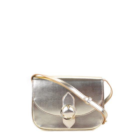 Bolsa Anacapri Mini Bag Básica Feminina - Ouro