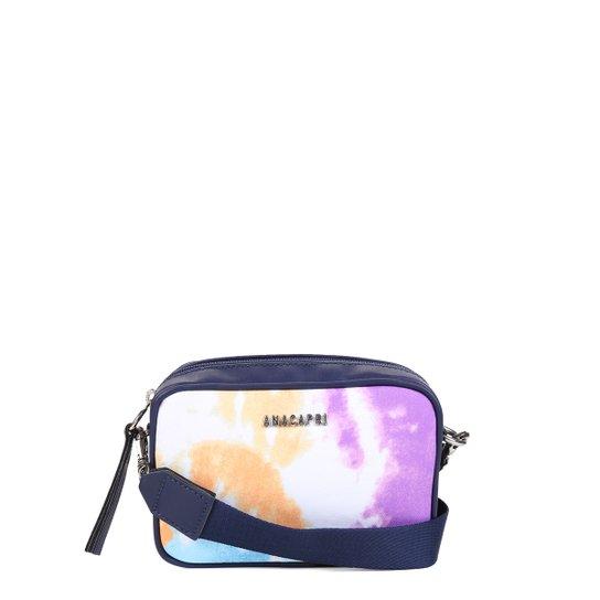 Bolsa Anacapri Mini Bag Tie Dye Feminina - Marinho