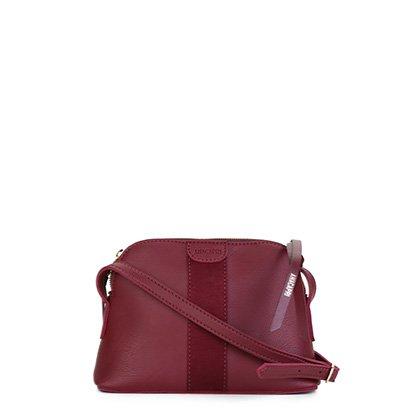 Bolsa Anacapri Mini Bag Transversal Feminina - Feminino - Vinho - COD. L47 - 0471 - 198