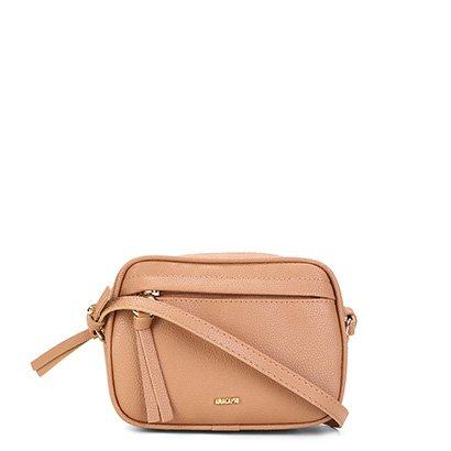 Bolsa Anacapri Veneza Mini Bag Transversal Feminina - Feminino - Caramelo - COD. L47 - 0478 - 030
