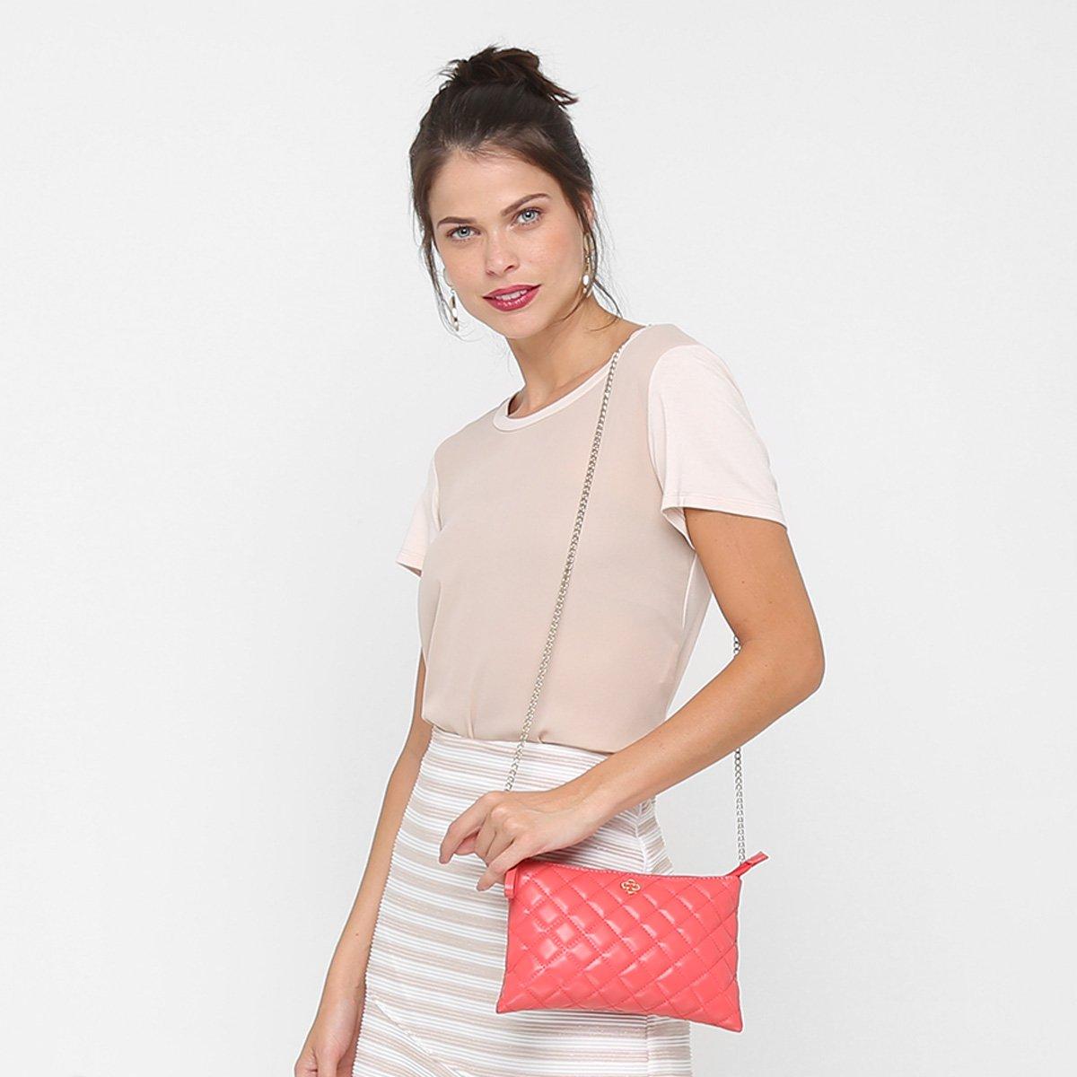 Matelassê Bolsa Capodarte Feminina Mini Coral Matelassê Bag Bolsa Bag Capodarte Feminina Coral Bolsa Mini 4PCqgxpwPd