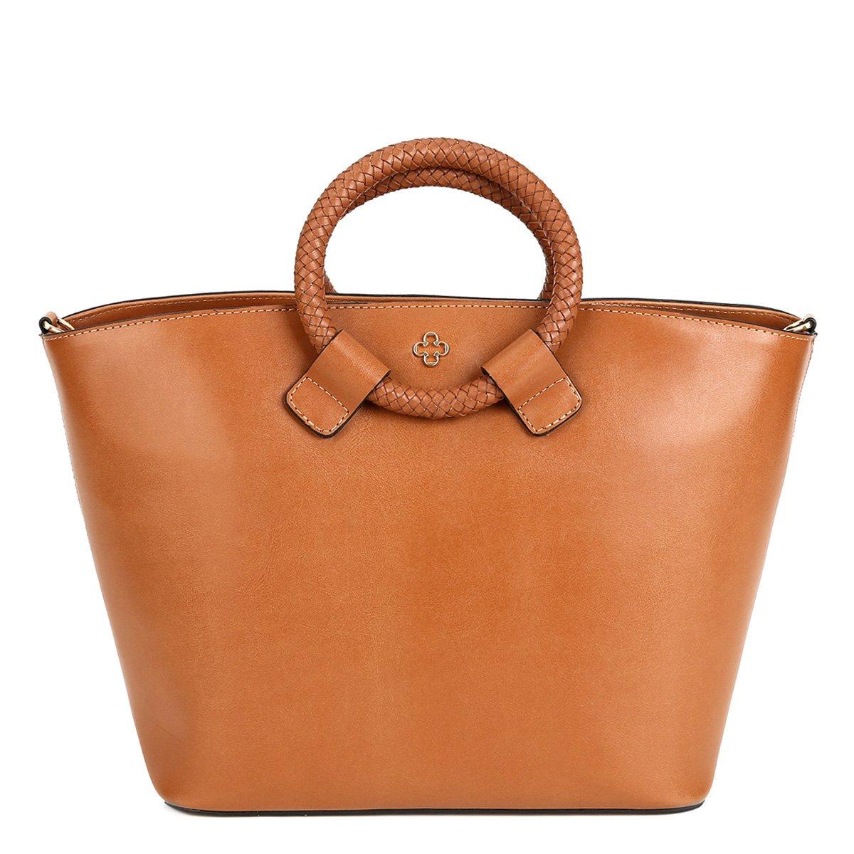Bolsa De Ombro Feminina Capodarte : Bolsa capodarte per interno vichy feminina caramelo