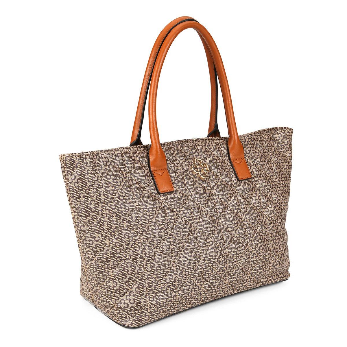 Bolsa Matelassê Capodarte Shopper Shopper Capodarte Caramelo Bolsa Feminina Matelassê Feminina xptq1n
